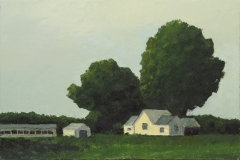 Farm House in Trees