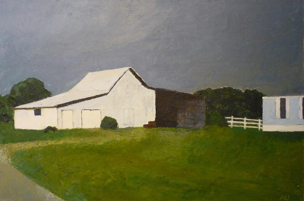 Barn near Sims