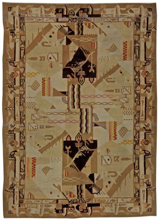 The Allure Of European Deco Carpets Architects And Artisans