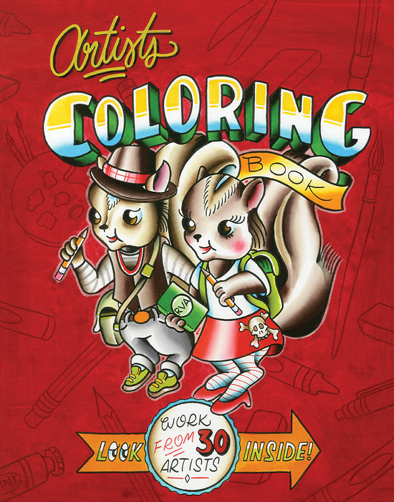 artists-coloring-book-cover-by-ross-trimmer