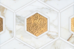 Ruche stone water jet mosaic