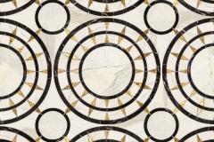 Mireille stone water jet mosaic