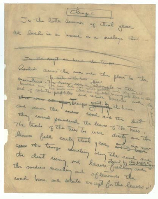 7-first-page-of-autograph-manuscript-of-a-farewell-to-arms-copy
