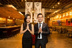 Interior, food, and principal photos of Bida Manda Laotian Restaurant and Bar in Raleigh NC. Owner Vansana Nolintha