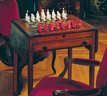 A Home for Napoleon\'s Chess Set ‹ Architects and Artisans