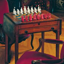 At Biltmore, a Home for Napoleon's Chess Set