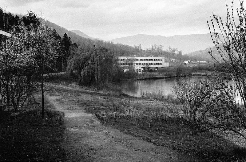 4) The Path to the Studies Bldg by Hazel Larsen Archer-r