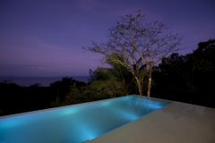 15 pool at night