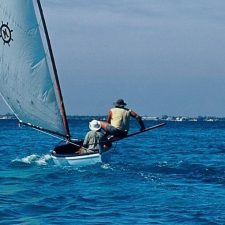 Carving Catboats on Grand Cayman