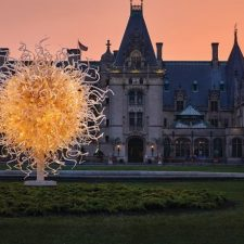 In Asheville, Chihuly at Biltmore Estate