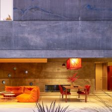 In California, Plunging into Concrete at House 6