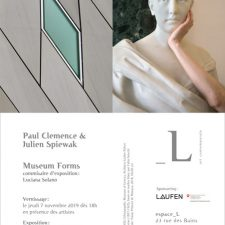 Museum Forms: Paul Clemence, Julien Spiewak