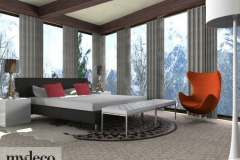Alpine bedroom