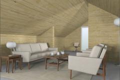 Swedish style loft
