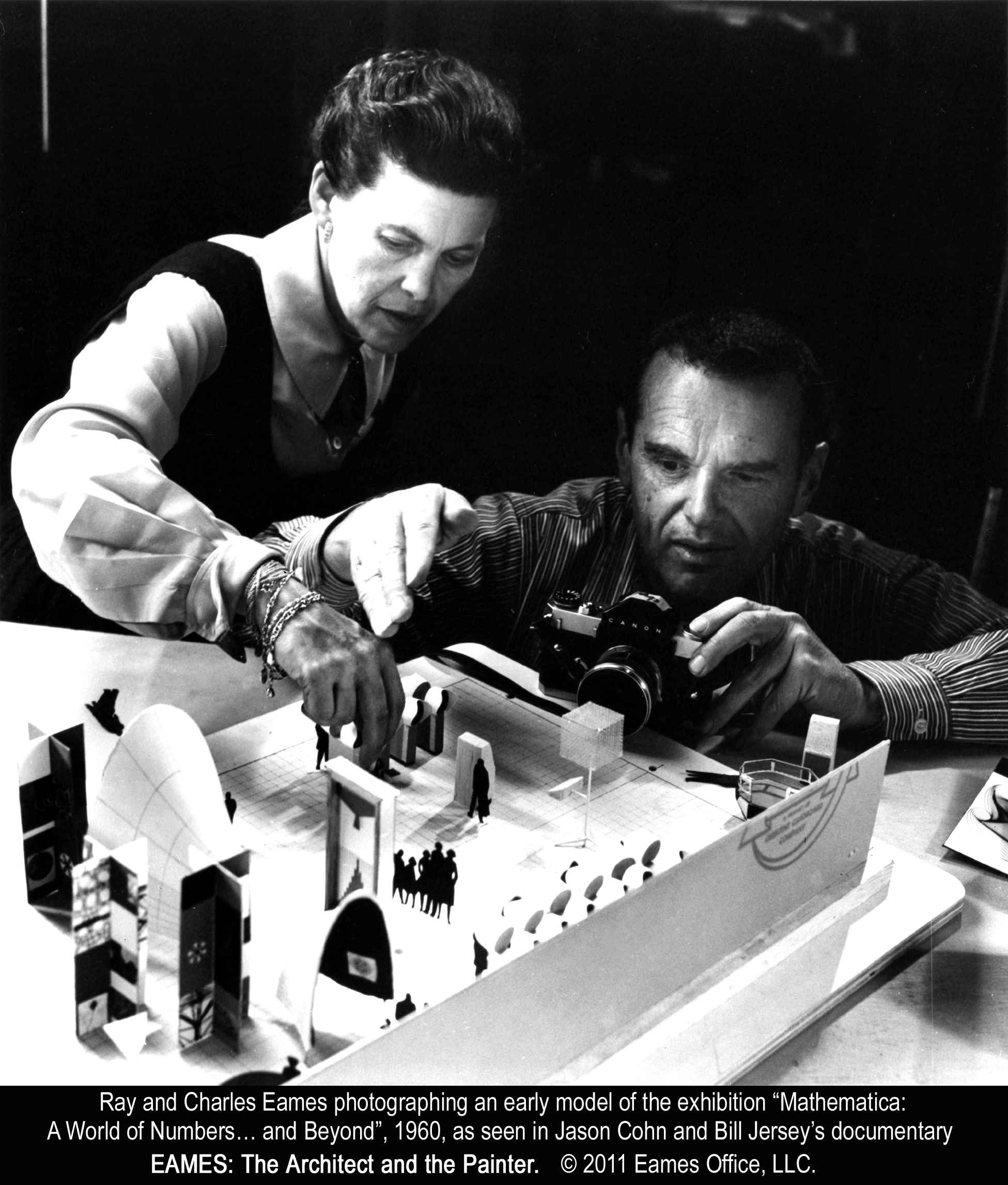 charles and ray eames debut on pbs architects and artisans. Black Bedroom Furniture Sets. Home Design Ideas
