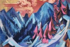 Kirchner Winter Landscape