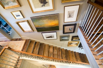 Hampstead Custom Home Staircase