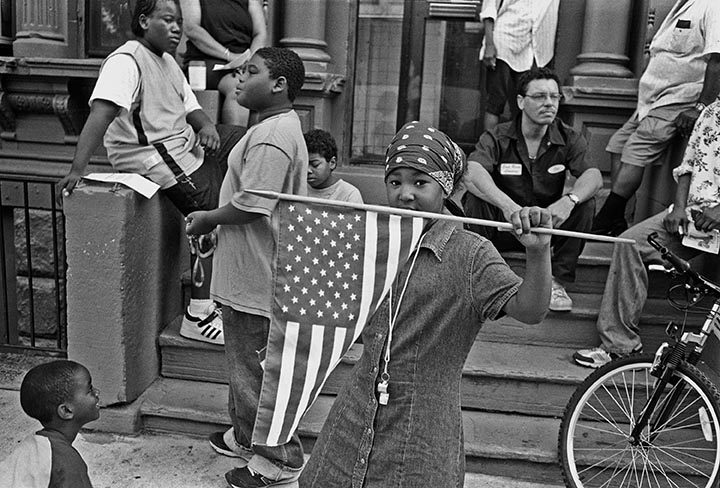 Girl holding flag72