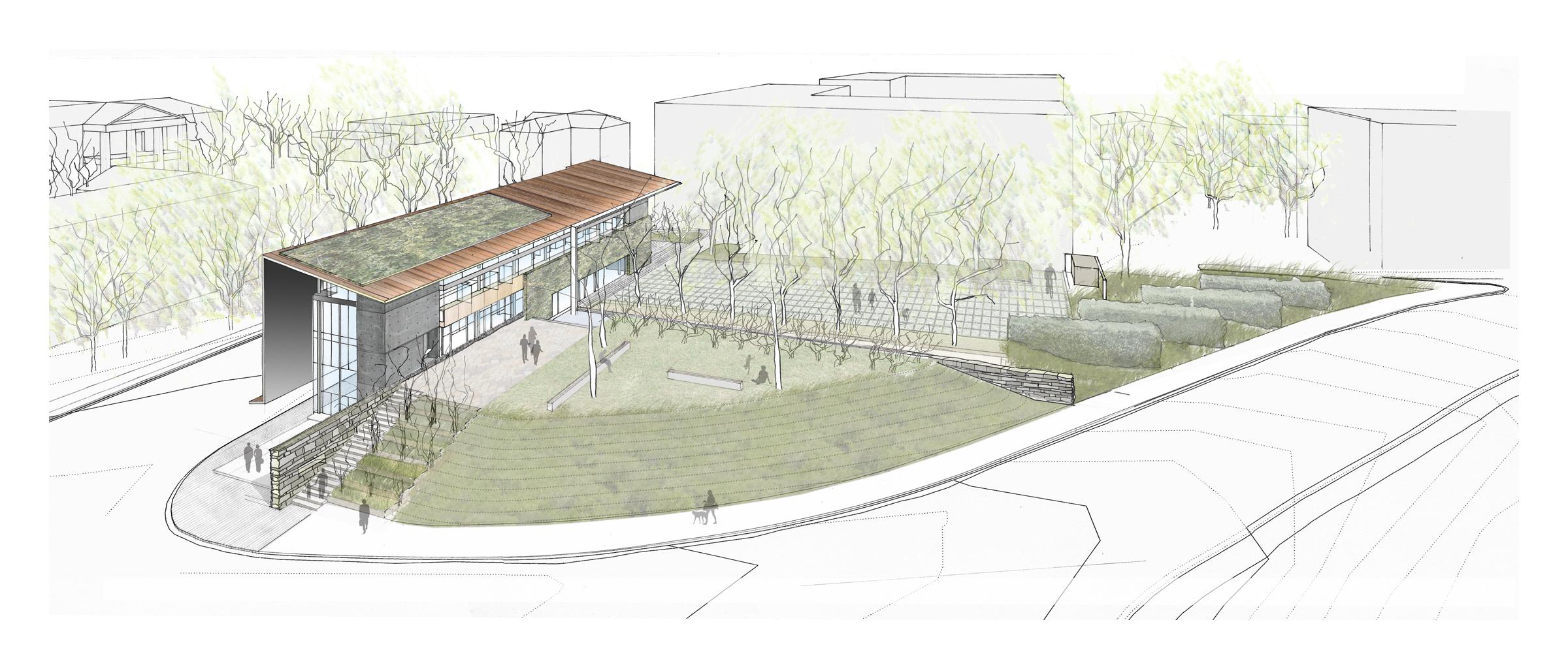 AIA NC Center for Architecture & Design, Frank Harmon Architect