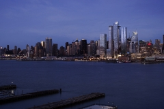 Evening View of Hudson Yards from Hudson River (c) Related, Oxford