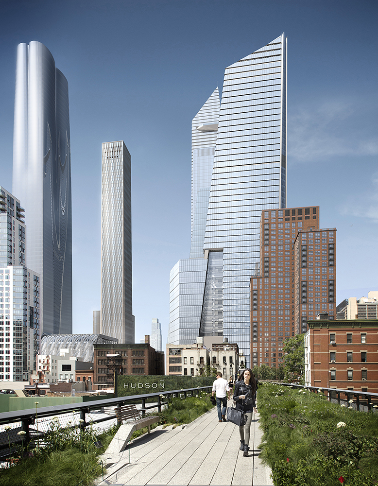 Hudson Yards Viewed from the High Line(c) Related, Oxford