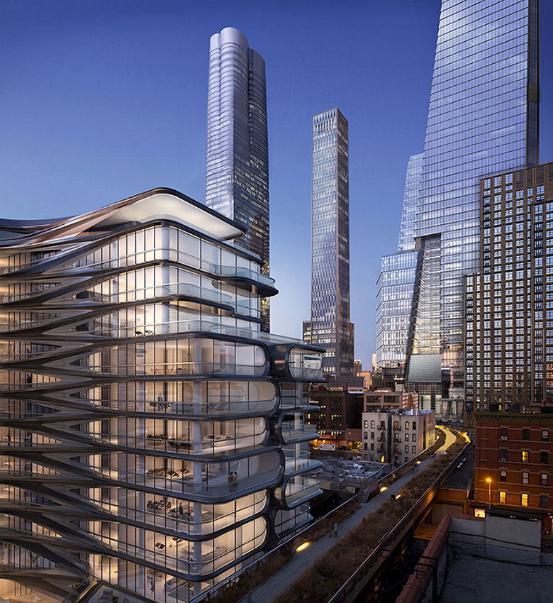 View of Hudson Yards and 520 West 28th (c) Related, Oxford