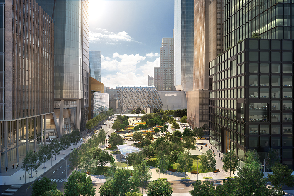 View of Hudson Yards Looking South (c) Related, Oxford