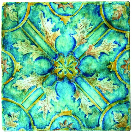 Designs in Tile that Choose Themselves Architects and Artisans