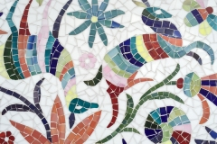 Otomi jewel glass mosaic