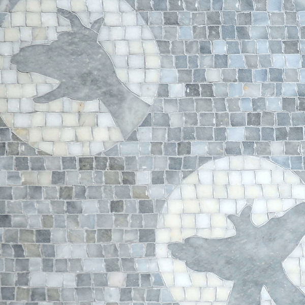 Creatures of the Night stone mosaic