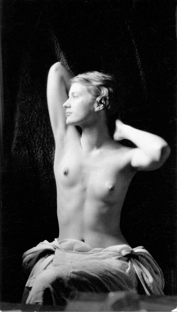 Lee Miller (1907–1977); Self Portrait, c.1930; Gelatin silver print; 3 ½ x 2 1/8 in. (9.0 x 5.2 cm); Lee Miller Archives, Sussex, England; © Lee Miller Archives, England 2011. All rights reserved. www.leemiller.co.uk