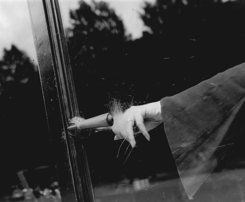 Lee Miller (1907–1977); Untitled (Exploding Hand), c. 1930; Gelatin silver print; 8 3/4 x 10 3/4 in. (22.3 x 27.4 cm); Lee Miller Archives, Sussex, England; © Lee Miller Archives, England 2011. All rights reserved. www.leemiller.co.uk