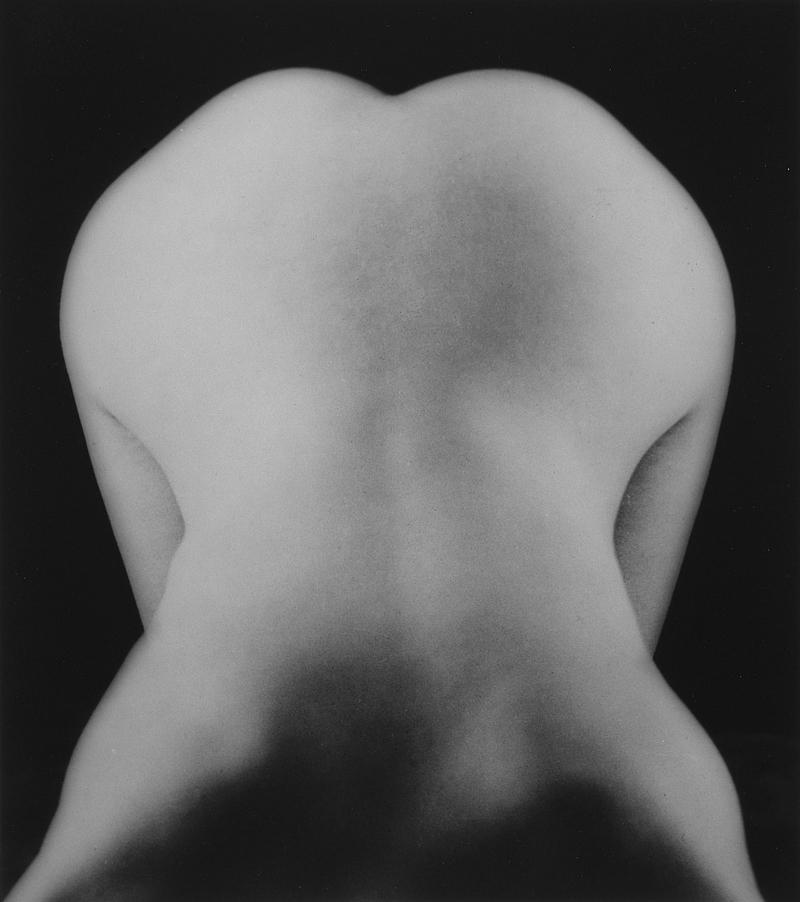Lee Miller (1907–1977); Nude Bent Forward, c. 1930; Digital color coupler print; 7 7/8 x 6 7/8 in. (20 x 17.5 cm); Lee Miller Archives, Sussex, England; © Lee Miller Archives, England 2011. All rights reserved. www.leemiller.co.uk