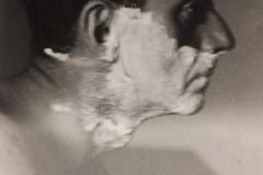 Lee Miller (1907–1977); Man Ray Shaving, c.1929; Gelatin silver print; 4 ¾ x 3 1/8 in. (12.3 x 7.7 cm); Lee Miller Archives, Sussex, England; © Lee Miller Archives, England 2011. All rights reserved. www.leemiller.co.uk