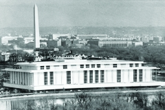 5/19/1971 Washington D.C. The John F. Kennedy Center for the Performing Arts borders the Potomac River in Washington. The Washington Monument is in background.NYTCREDIT: ASSOCIATED PRESS