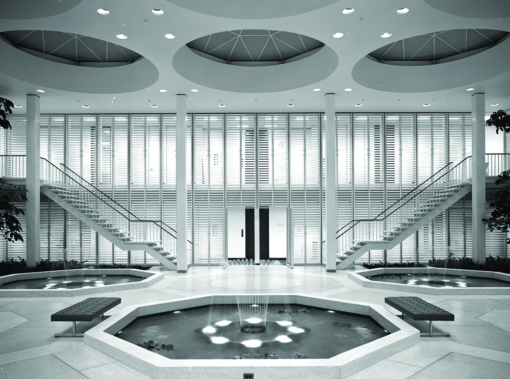 Levitt Office Building, Location: Lake Success NY, Architect: Edward Durell Stone