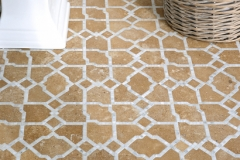 Fasaldo stone water jet mosaic