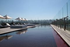 red-pool-atop-hotel-unique