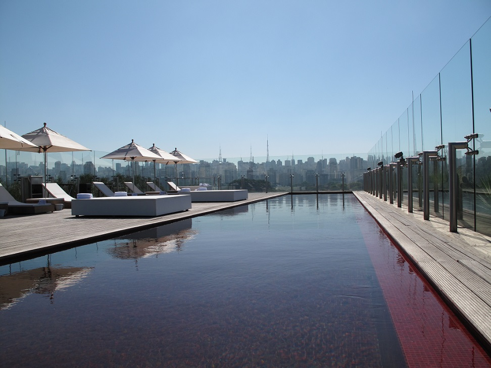 red-pool-atop-hotel-unique