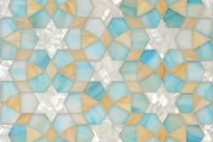 Medina jewel glass waterjet mosaic