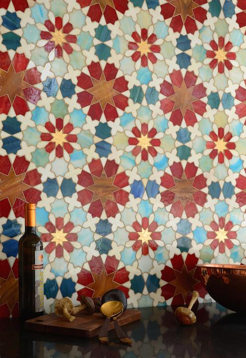 Granada Grande Jewel Glass Mosaic