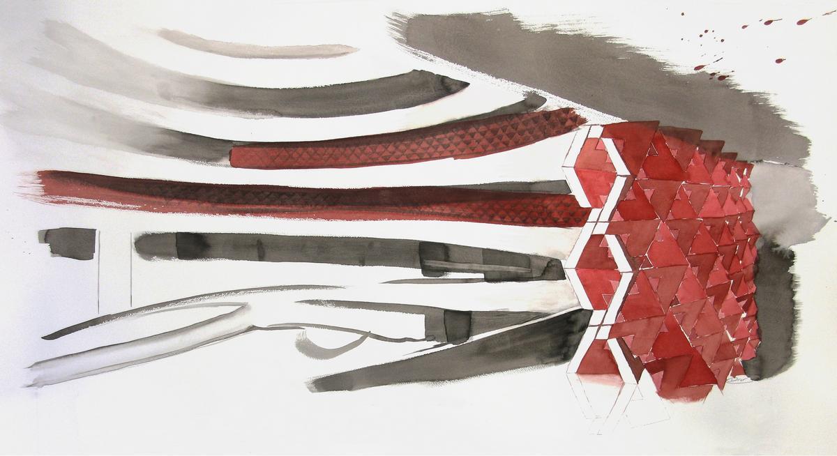 QuaDror watercolor Guggenheim_th