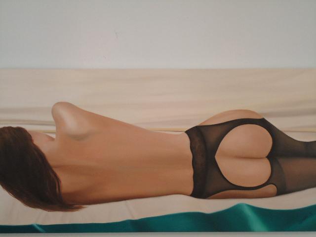 NIght in Paris Oil Painting