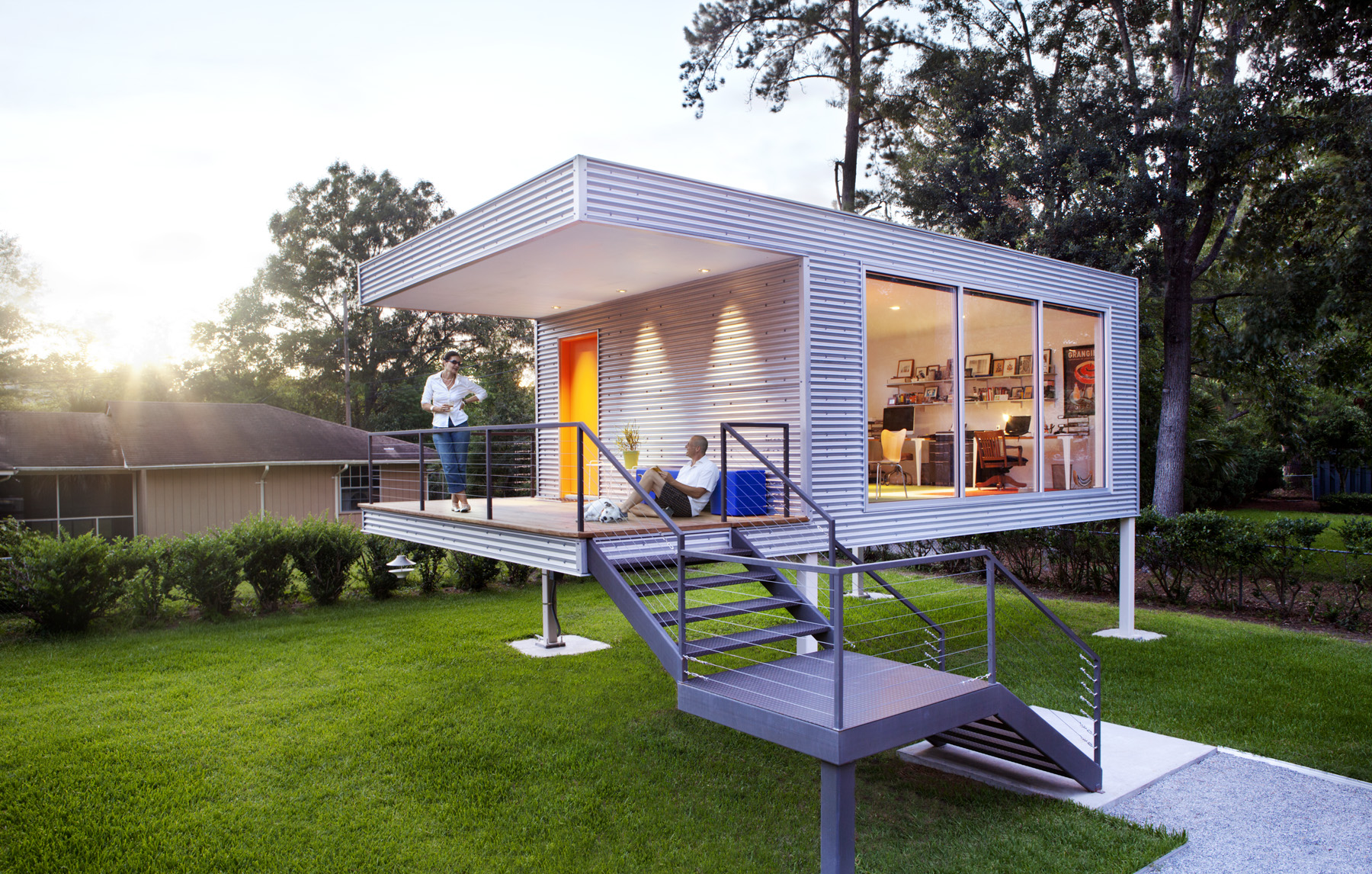 In Savannah the Suburban Think Tank Architects and Artisans