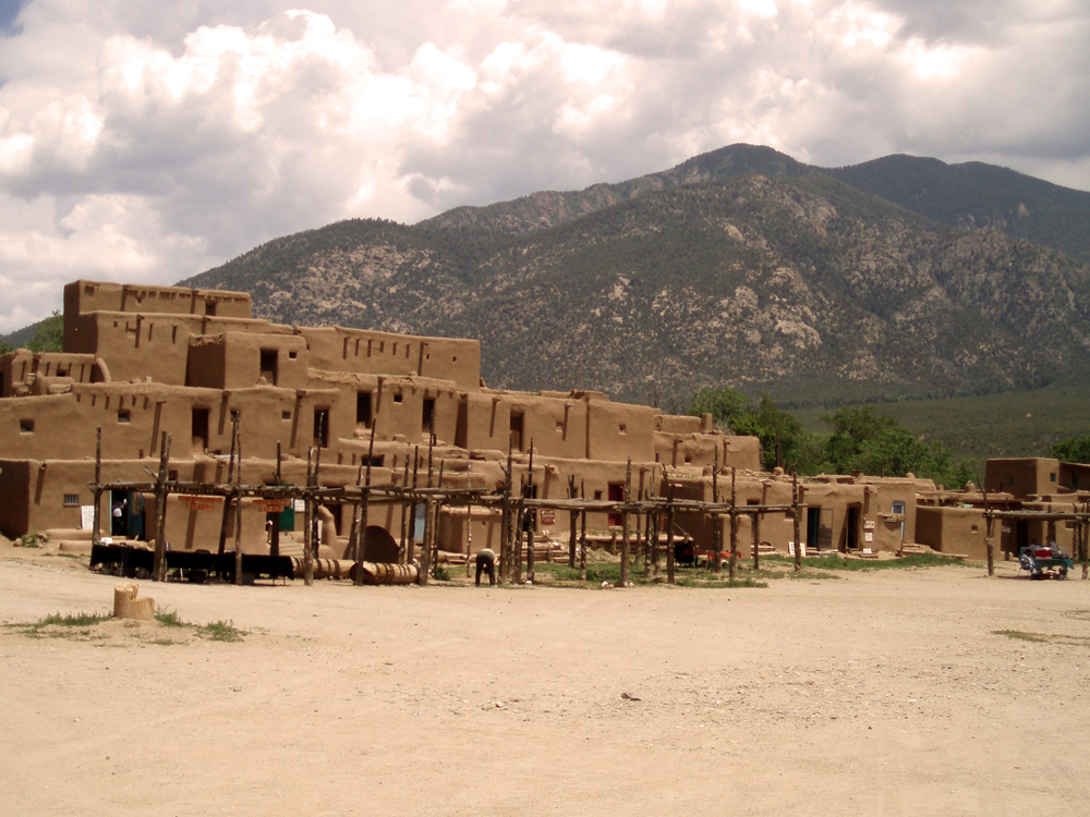 Country: United States Site: Taos Pueblo World Heritage SiteCaption: Hlauuma (north house) Pueblo in summer. Image Date: 2007 Photographer: National Park ServiceProvenance: 2010 Watch NominationOriginal: from Share File