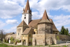 Country: RomaniaSite: Landscape of Fortified Churches in Southern Transylvania, RomaniaCaption: General view of site: fortified church in CristianImage Date: June 2008Photographer: Coordination Office for Fortified ChurchesProvenance: 2010 Watch NominationOriginal: from Share File